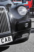 Black Cab - Mounted Print
